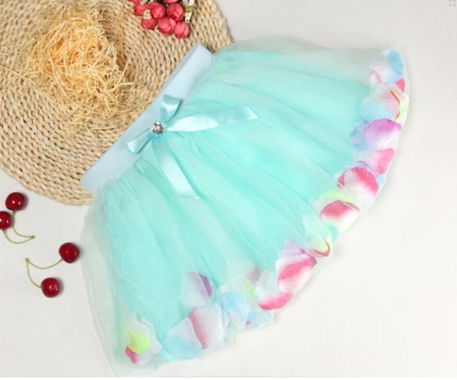 Girls Pettiskirt Baby Tutu Skirts Pink Tulle Puffy Skirts Toddler/Infant Short Cake Skirt Children Girl Princess Skirts