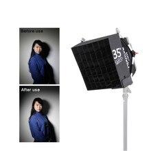 Grade Caixa de Fácil + Kit Difusor Softbox Difusor para a série 672 528 de Aputure Amaran LED suave luz dura