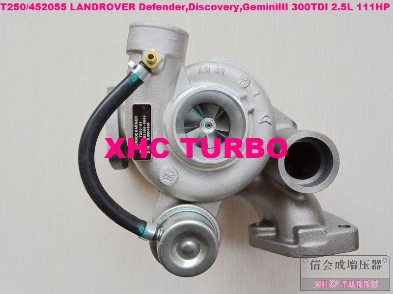 NEW T250 452055-5004S ERR4802 ERR4893 Turbo Turbocharger for LAND-ROVER DEFENDER DISCOVERY RANGE-ROVER 300TDI 2.5L 93KW