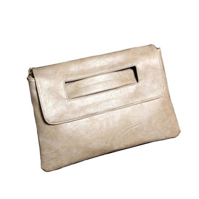 SWDF New Fashion Women Envelope Clutch Bag Leather Women Crossbody Bags Women Trend Handbag Messenger Bag Female Ladies Clutches 2