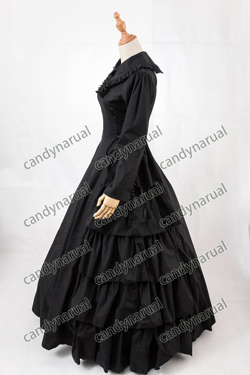 ZNCJ Customized Vintage Costumes 1860s Civil War Southern Belle Ball Gown  Dress Gothic Lolita Dress Victorian Bustle dresses ca117df95f4b