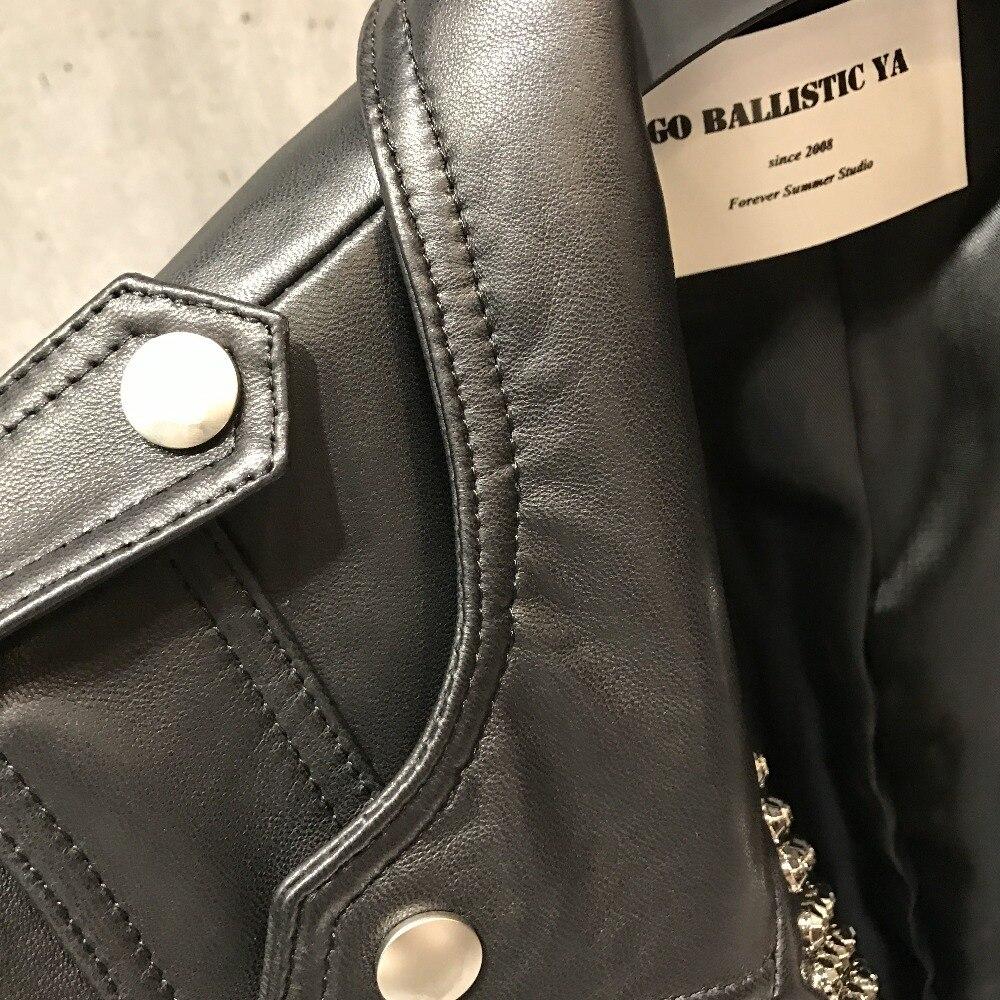 Image 2 - 정품 가죽 자켓 여성 진짜 양피 블레이저blazer plus sizeblazer plus size 5xlblazer blazer -