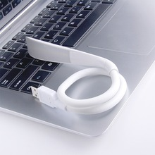 Portable Mini USB Led Lamp Flexible LED In-line USB Light Ultra Bright 14LEDS for Laptop Notebook PC Computer