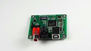 Image 2 - Convertidor USB a Coaxial/fibra óptica SPDIF I2S, tablero DAC, 24 bits, 192khz, CM6631A