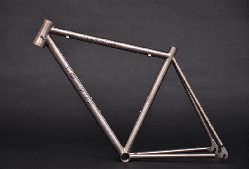 Fixed Gear Bicycle 700C Ti Titanium Frame 700C*23/25/28C C Brake Frame