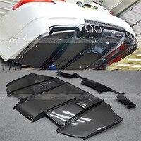 Olotdi E92 E93 M3 VRS Стиль углерода Волокно заднего бампера для губ автомобилей диффузор для BMW E92 E93 M3 07 13 аксессуары Тюнинг автомобилей