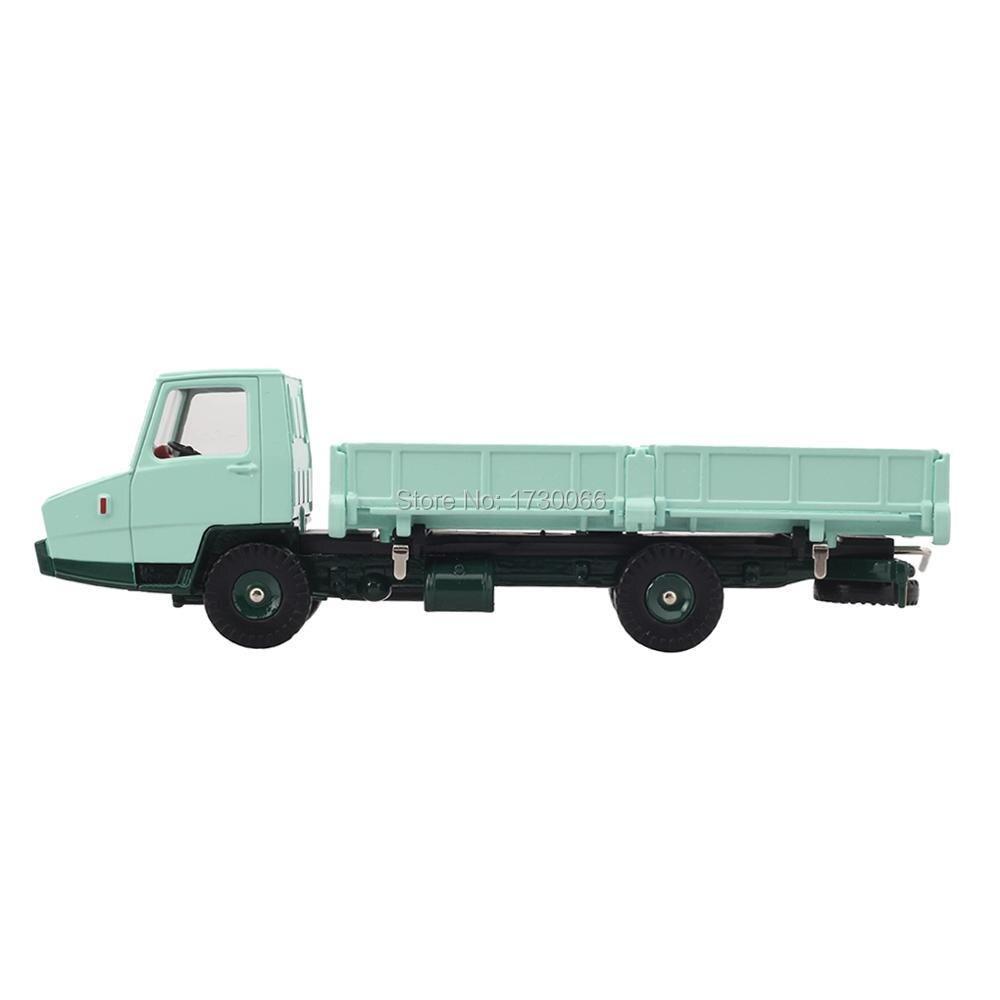 Купить с кэшбэком Atlas DINKY diecast car model 1:43 REF 569 BERLIET STRADAIR BENNE  Diecast Alloy Car model Toys Model  Light Green Lorry