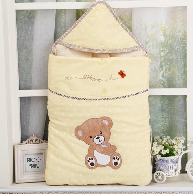 2015 hot Baby sleeping bags as envelope for baby cocoon wrap sleepsacks, saco de dormir para bebe used as a blanket & swaddling