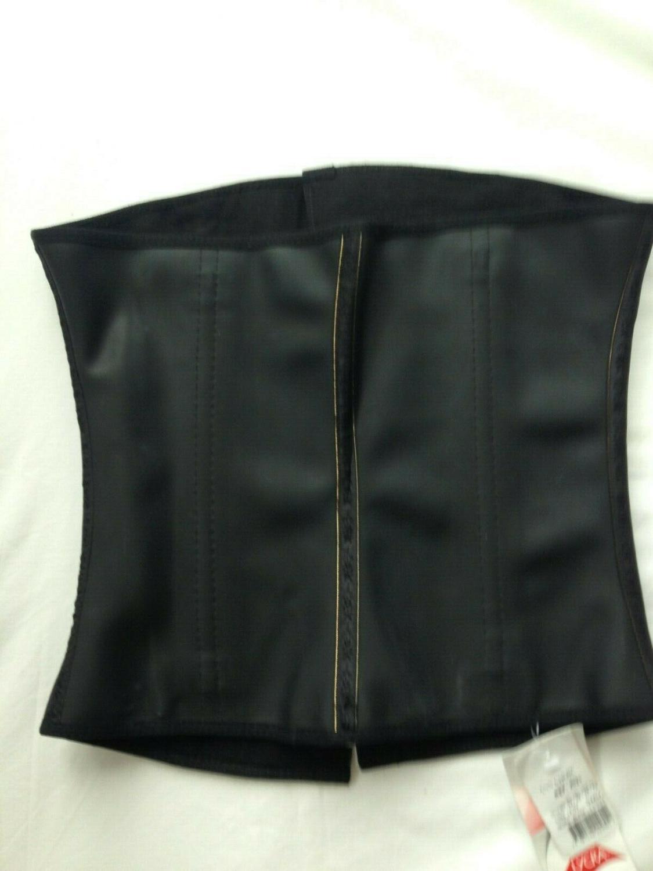 Ann Chery 2025 Corset d'entraînement de taille ceinture en Latex noir taille S-2XL ~ Corset en Latex ~ lingerie de designer ~ images de sexe chaud pour femmes - 4