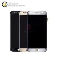 Оригинальный OEM ЖК дисплей для SAMSUNG Galaxy S7 край ЖК дисплей Дисплей G935 G935F Сенсорный экран Digitizer Ассамблеи Запчасти для авто
