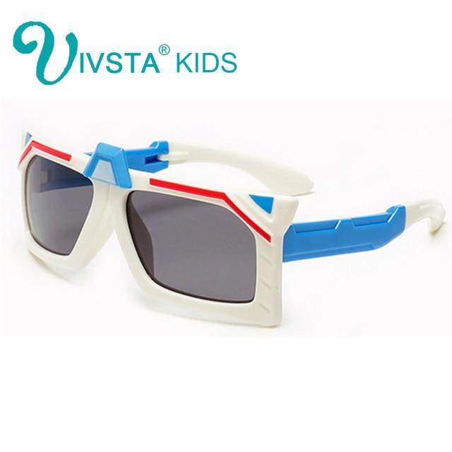 Ivsta Transformer Silikon Anak-anak Kacamata Bingkai Kacamata Anak  Laki-laki Keren Anak Kacamata 94b7aea48f