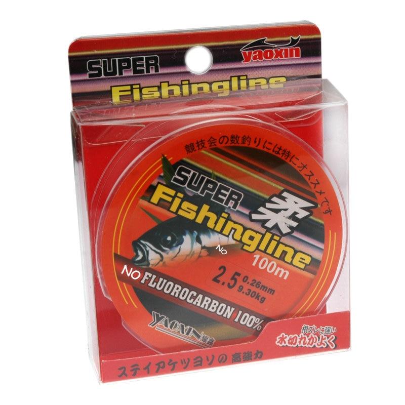 Brand super strong japanese 100m 100 nylon transparent for Fishing line brands