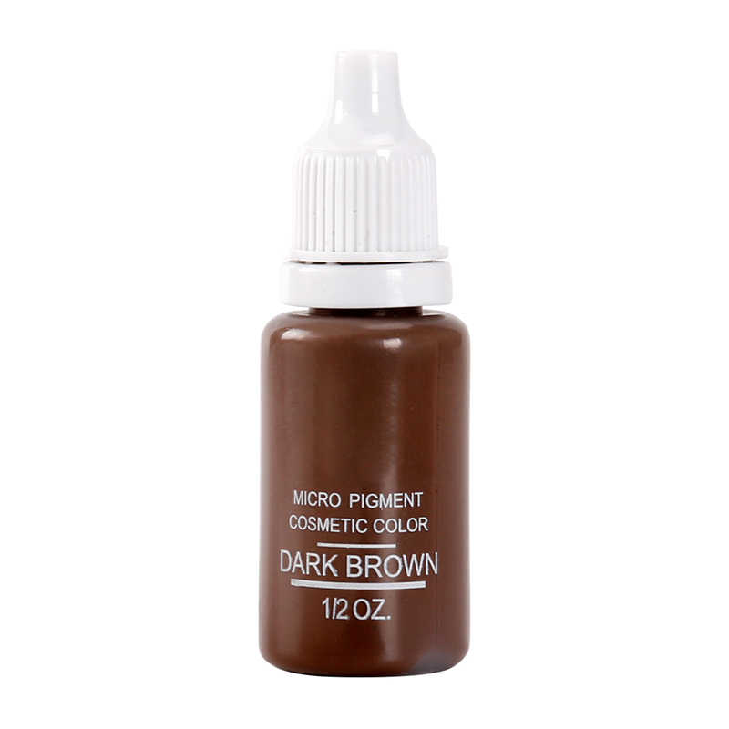 5 בקבוק 1/2 oz קבוע איפור מיקרו פיגמנטים סט BTCH קעקוע דיו קוסמטי 15 ml ערכת קעקוע גבות שפתיים איפור מעורב colo