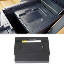 10W araba QI kablosuz şarj telefon şarj hızlı şarj plakası aksesuarları için Lexus NX NX300 NX200 NX300h NX200t için iPhone 8