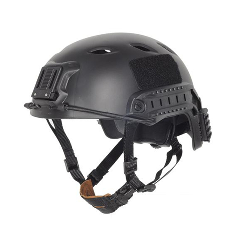 Tactical Fast Helmet Protective Jump Helmet ACH Base Sports BJ Military Black FG DE RED Size L/XL