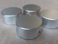 Diameter 48mm Height 22mm Black Amplifier Knob Full Aluminum Audio Volume Solid Knob