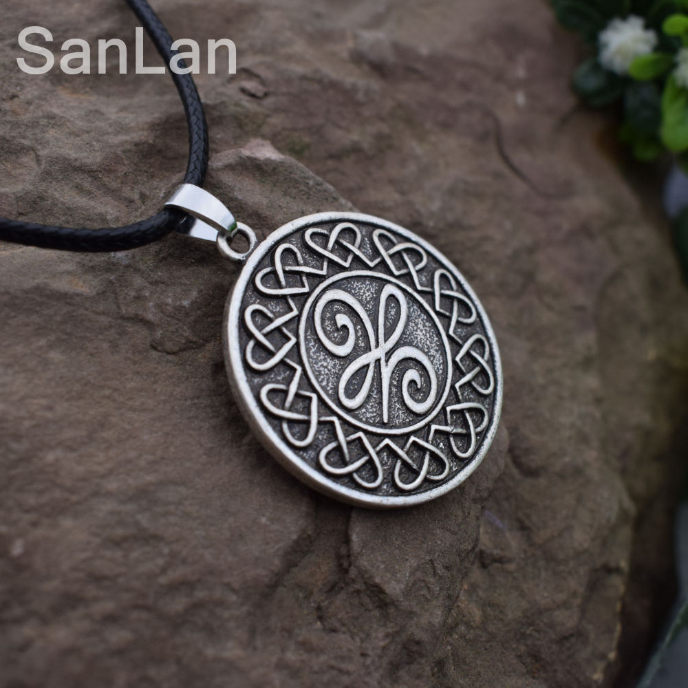 Original celtic new beginnings symbol means a new beginning pendant original celtic new beginnings symbol means a new beginning pendant necklace celtic knot round necklace sanlan jewelry in chain necklaces from jewelry buycottarizona Images