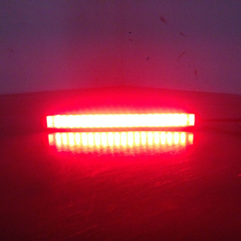 1 Pcs Car LED Red Stop Brake Light Taillight for Universal 12V Automobiles Truck Trailer in Car Light Assembly from Automobiles Motorcycles