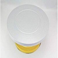 WOFO 23 CM Hot Plastic Staal Cake Roterende Stand Draaitafel Decoreren Stands Platform Cupcake Plaat Keuken Accessoires Gereedschap