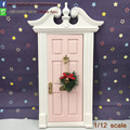 Miniatures Fairy Garden Supplies Elf Door Wooden Pink Tooth Fairy Door