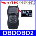 Newest VS890 Universal Auto Diagnostic Scanner Vgate VS890 OBD2 CAN-BUS Fault Car Code Reader VS-890 Multi-Languages