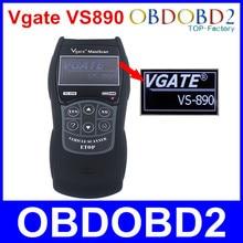 Новые VS890 Универсальный Авто диагностический сканер Vgate VS890 OBD2 может-bus неисправностей автомобилей кодекса reader vs-890 мульти -языков