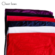 Wholesale Width is 150CM Solid Velvet Cotton Fabric Apparel Sewing Home Textile Clothes Sewing Supplies Decorative Pillowcase