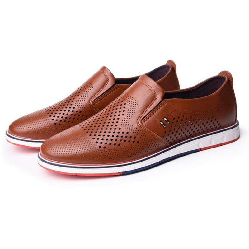 Տղամարդկանց նոր ամառային ժամանցի - Տղամարդկանց կոշիկներ - Լուսանկար 3
