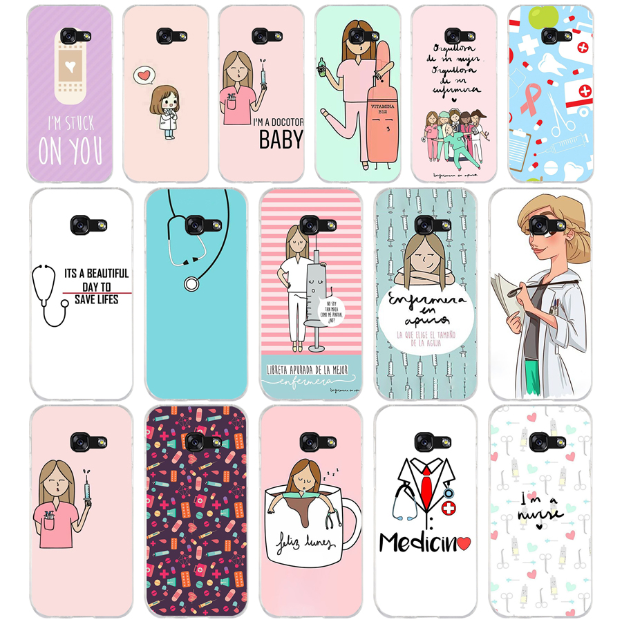 Phone Bags & Cases Spirited 98we Cute Cartoon Medicine Doctor Soft Silicone Tpu Cover Phone Case For Samsung A3 2016 A5 2017 A6 Plus A7 A8 2018 A9 Star Lite Making Things Convenient For The People