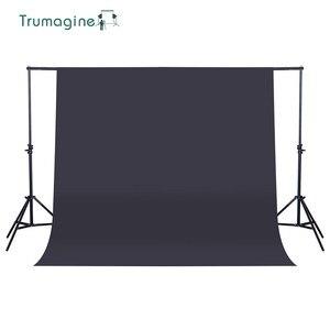 Image 5 - TRUMAGINE 160X200 cm Ảnh Nền Nhiếp Ảnh Backdrop Không Dệt Màu Xanh Lá Cây Photo Studio Chụp Chroma key Màn Hình Màu Rắn