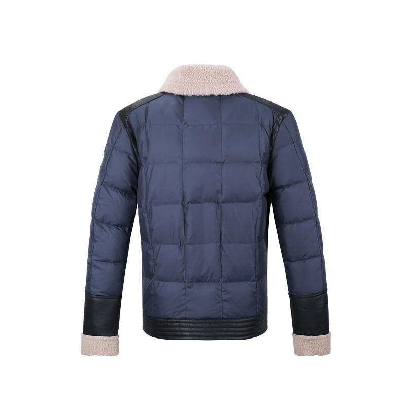 VIISHOW Kış Işık Aşağı Ceket Erkekler Marka Turn-Aşağı - Erkek Giyim - Fotoğraf 2
