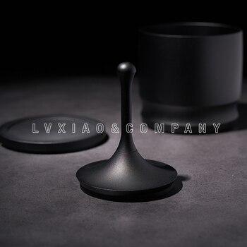Watchget Koffie Zeef Aluminium Keuken Tool Barista Koffie Gereedschap Coffeeware Zwart Voor EK43 58 Mm Handvat