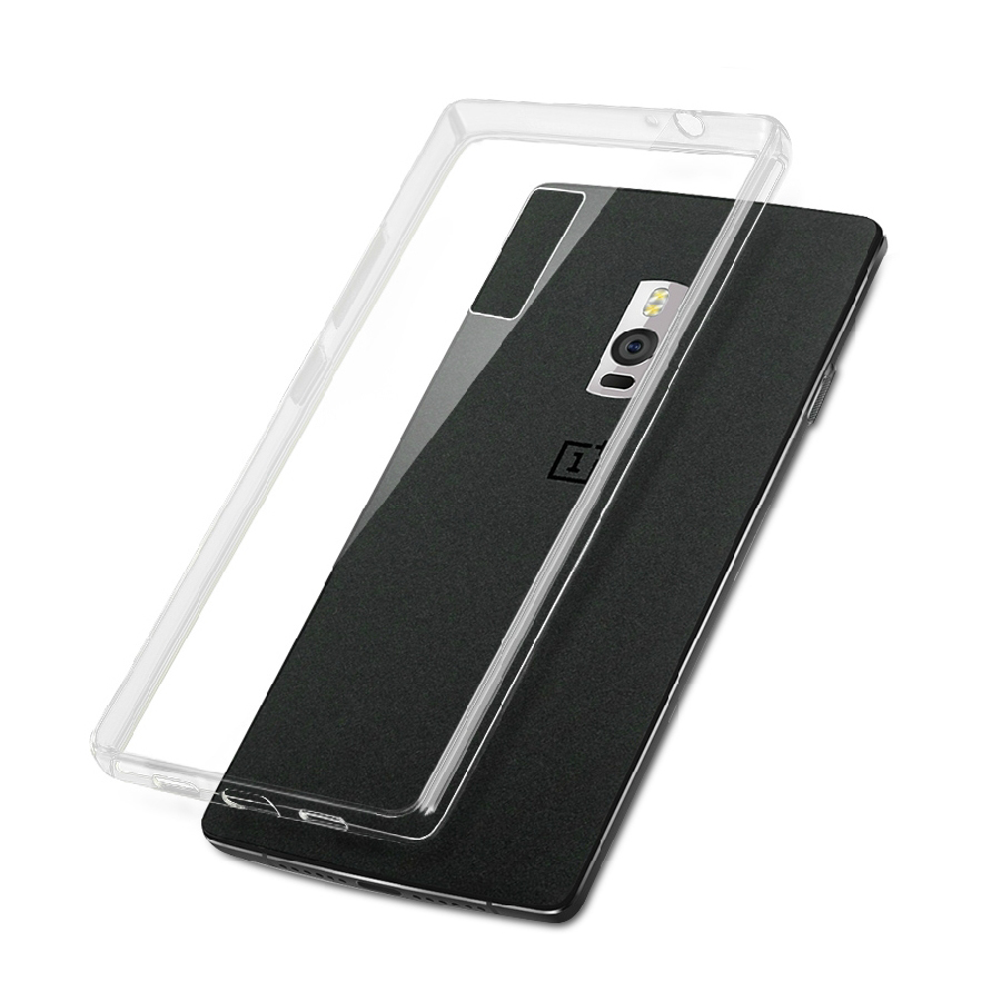sundatom oneplus two clear tpu transparent case slim crystal back skin rubber phone cover for. Black Bedroom Furniture Sets. Home Design Ideas