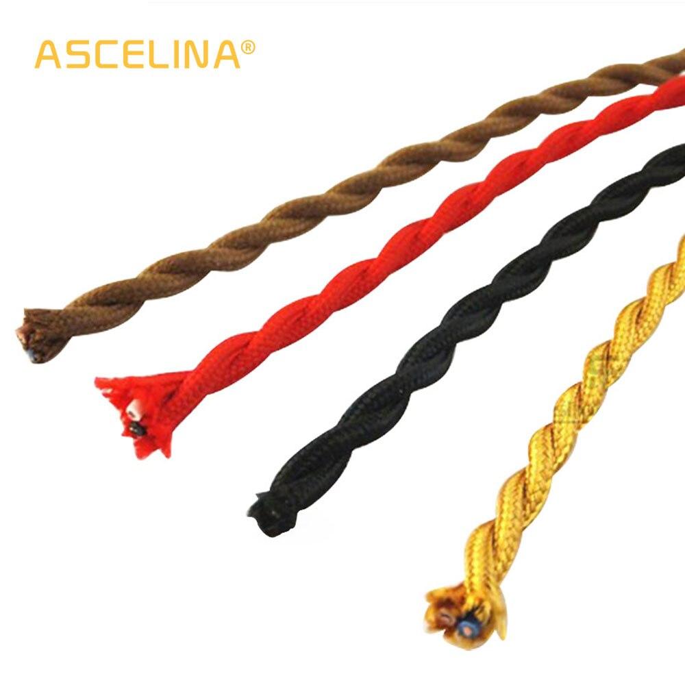 Cordon Electrique Pour Lampe prix de gros fil de cuivre 3 m/lot 2x0.75 couleur vintage tissu câble  cuivre conducteur fil électrique câble torsadé pour lampe