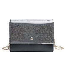 Luxury Mini Bling Summer Crossbody Bags for Women 2019 PU Leather Leisure Chain Shoulder