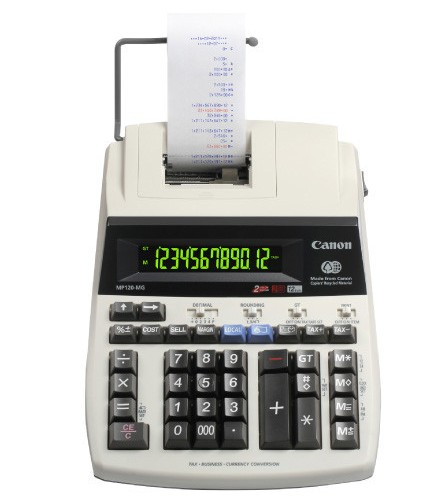 Print Calculator MP - 120 Mg of Double Color Print Shall Be Applicable To The Office office electronic graphic calculator counter scientific calculator support image matrix vector sequence equation calculating