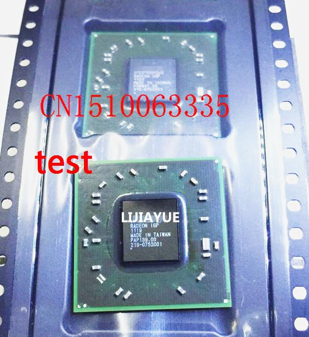 Free shipping 2PCS 216 0752001 216 0752001 refurbished test good quality 100 with 95 new appearance