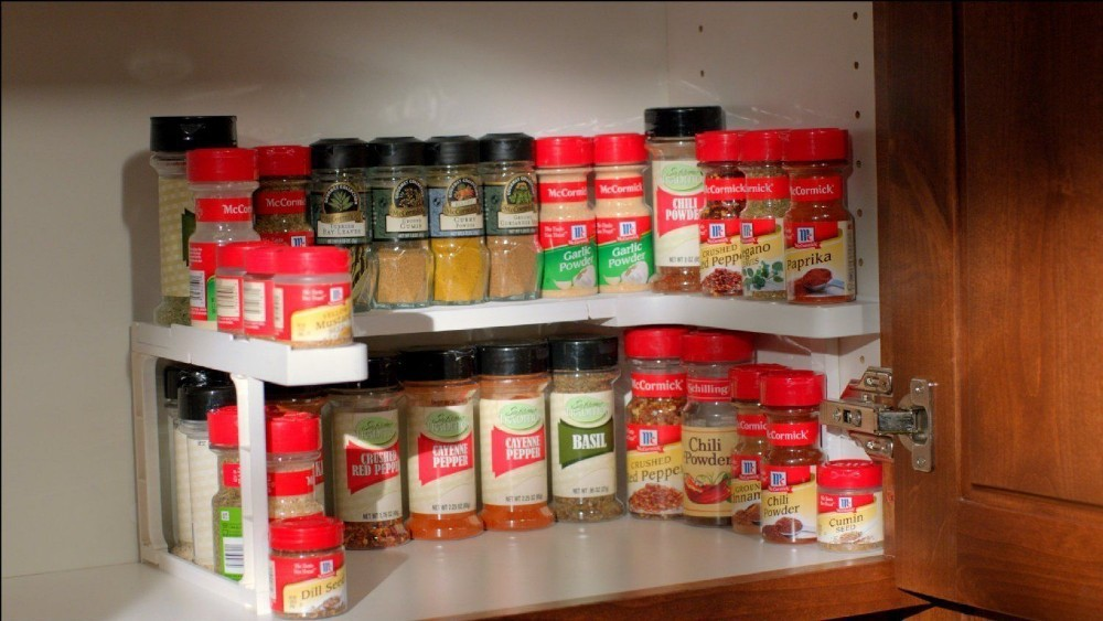 Spicy Spice Shelf Rack and Stackable Organizer