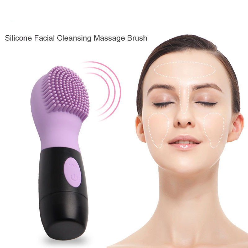 ZD 2018 Brand Designer Skin Care Tool Portable Electric Facial Cleaning Massage Brush Multifunction Face Cleaning Tools XN257M new 5in1 face brush cleansing multifunction electric ultrasonic wash spa skin care massage face brushes facial cleanser tool