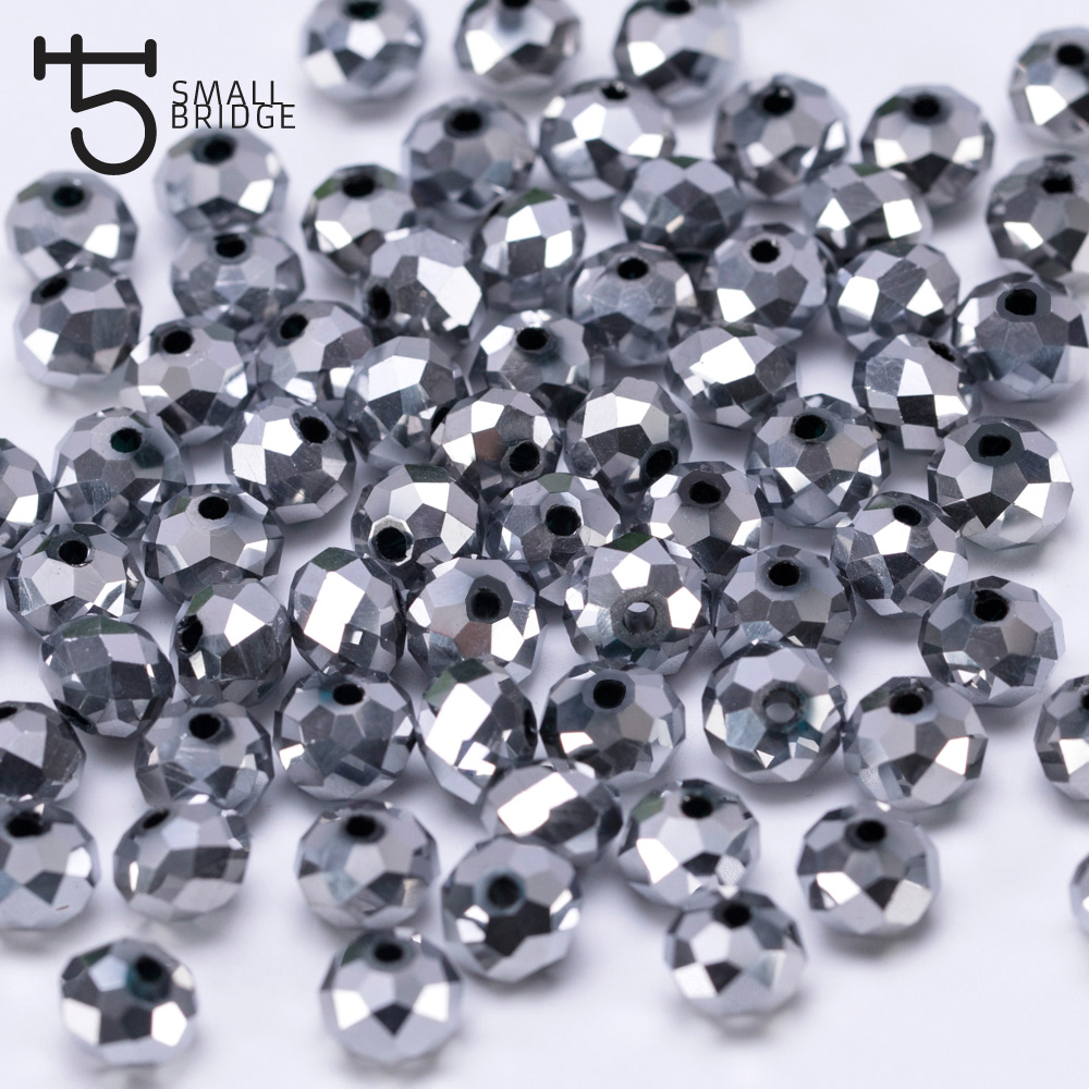Jewelry & Accessories Beads & Jewelry Making 100pcs 4mm Austria Green Faceted Ball Beads Women Diy Accessories For Jewelry Makging Spacer Crystal Glass Beads Wholesale Z104