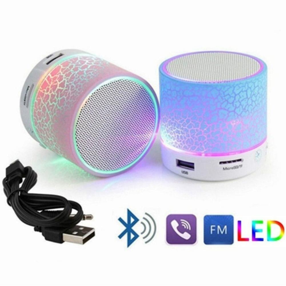 2019 Mini Bluetooth Speaker Loudspeaker LED USB Subwoofer bluetooth Speakers mp3 stereo audio music player2019 Mini Bluetooth Speaker Loudspeaker LED USB Subwoofer bluetooth Speakers mp3 stereo audio music player
