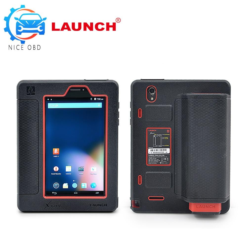 imágenes para Lanzamiento X431 V Potente 5C de Lanzamiento X431 Libera la Actualización a través de Internet X-431 V con Bluetooth/WiFi Versión Global de 2 años gratis actualización