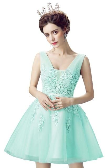 New-Evening-Dresses-2019-A-Line-Lace-Appliques-Lace-Up-Back-V-Neck-Short-Evening-Dress.jpg_640x640