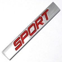 3D Metal Sport Sticker Emblem Badge