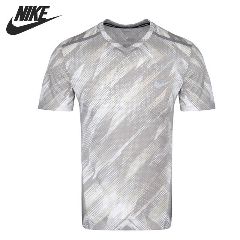 Original New Arrival 2017 NIKE AS M NK BRTHE TOP SS TLWIND CL Men's T-shirts short sleeve Sportswear топ nike топ w nk brthe tank pro inside grx