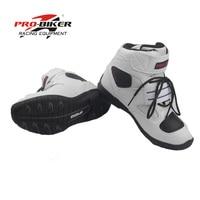 Pro botas de motociclista homens bota para moto rcycle chaussure moto moto rbike botas bota moto cruz sapatos de corrida de velocidade preto pro biker Tamanho