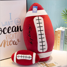 Creative Simulation Football Toys Plush Stuffed Doll Toy Soft Pillow Children Boys Gifts