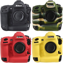 цена на Ableto Camera Bag for NIKON D500 Lightweight Camera Bag Case Protective Cover for nikon D500 Camouflage Black yellow red colour
