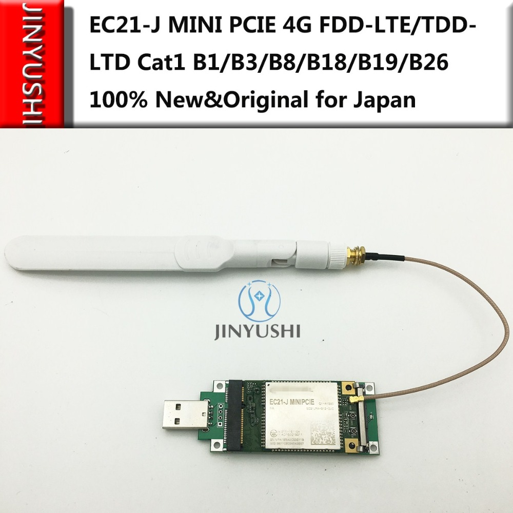 EC21-J Mini PCIe LTE 4G Cat.1 FDD-LTE/TDD-LTD B1/B3/B8/B18/B19/B26 For Japan Wireless Communication Module