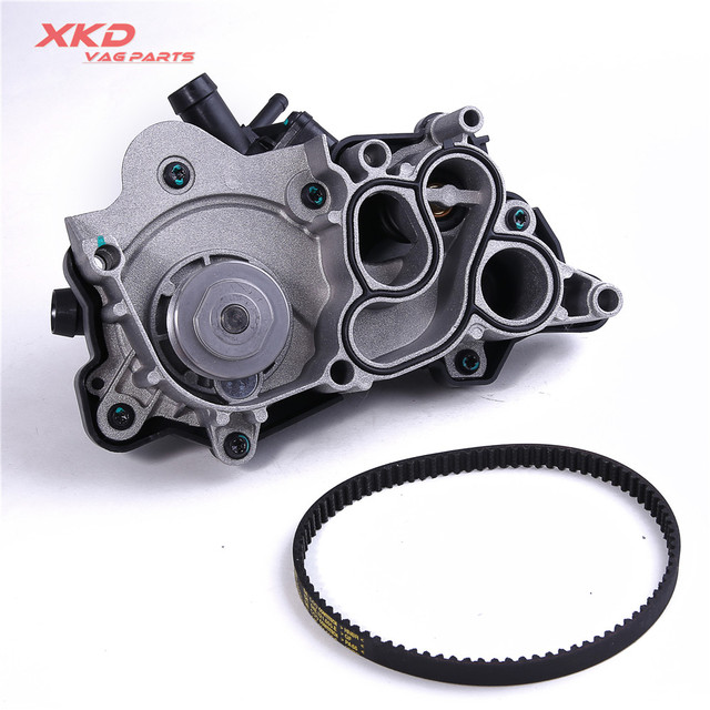 US $99 99 |EA211 Engine Water Pump Set For VW Golf Jetta Beetle CC Tiguan  Audi A3 A4 Q3 1 4T 04E 121 600 AG 04E 121 605 -in Water Pumps from